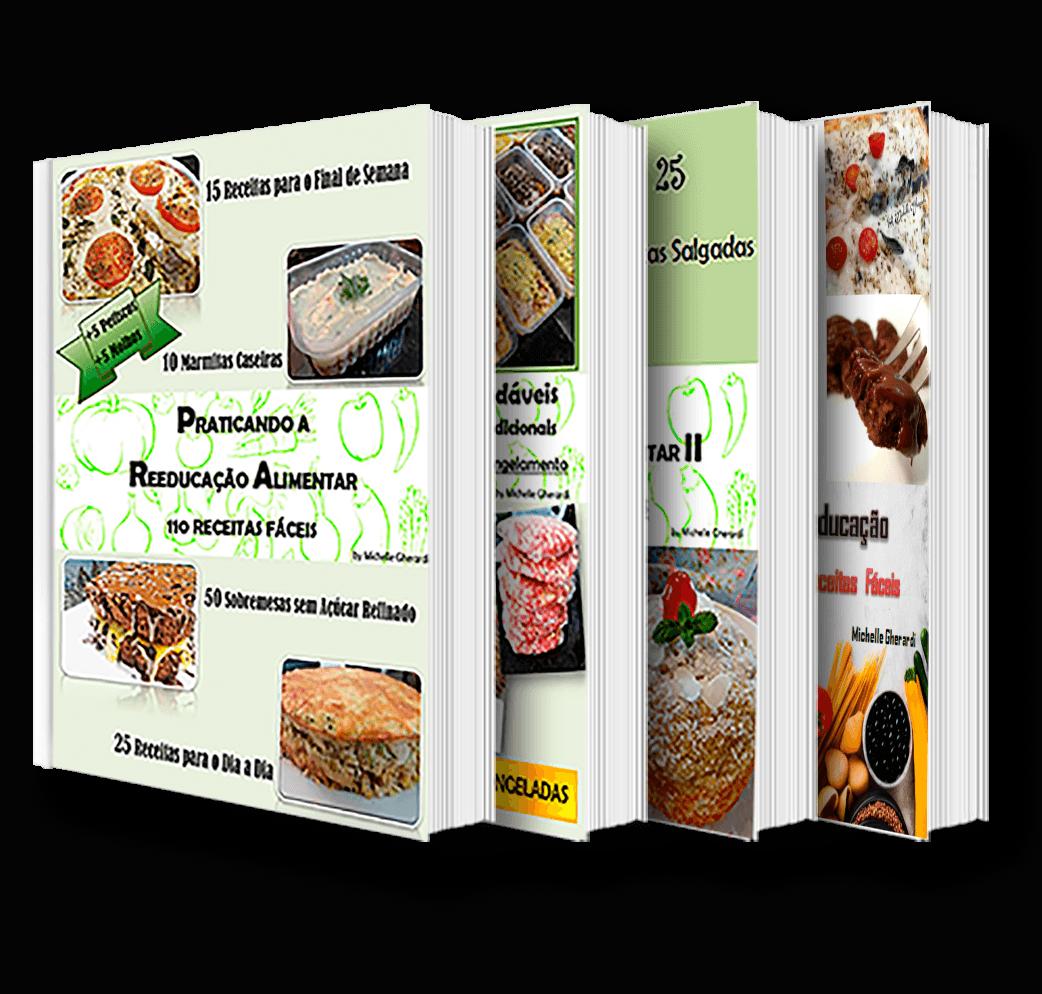 kit ebook com 4 livros digitais