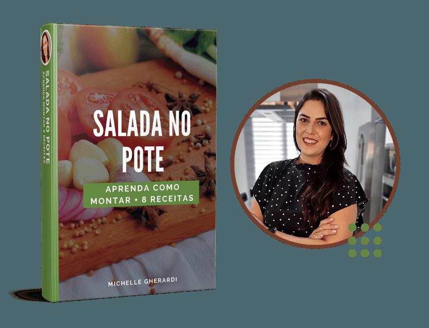 michelle autora ebook guia de salada no pote